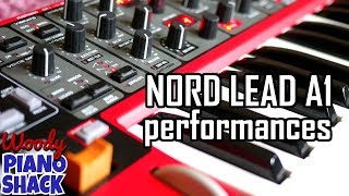 Nord Lead A1 demo sounds | there might be 80s...