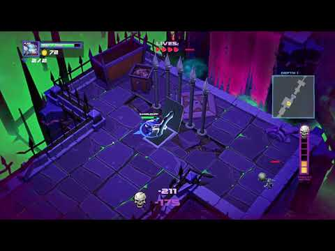 Super Dungeon Bros Game Play |