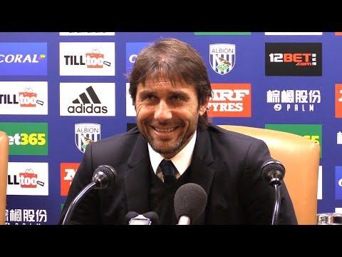 West Brom 0-4 Chelsea - Antonio Conte Post Match Press Conference - Premier League #WBACHE