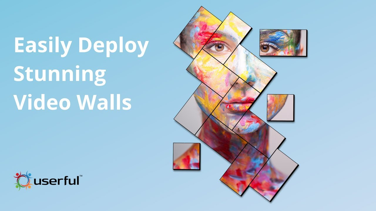 Video Wall Software | 1 to 100 Screens from 1 PC | Userful