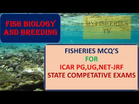 FISH BIOLOGY AND BREEDING MCQ