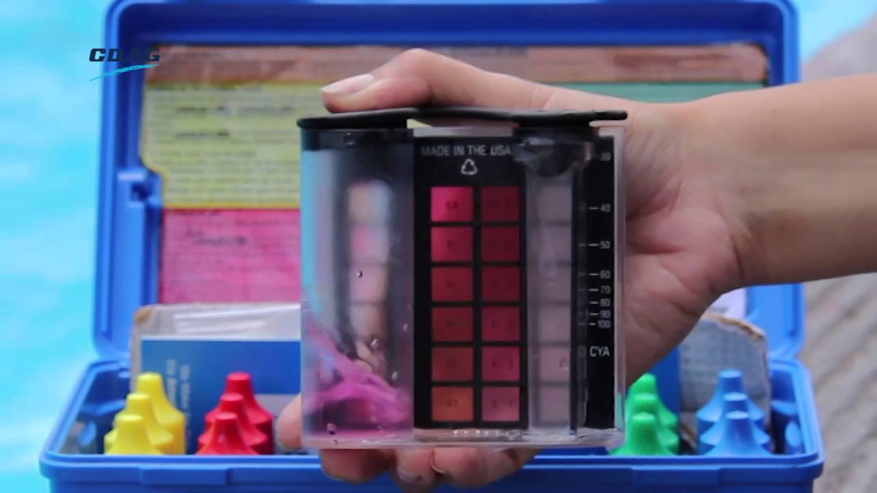 Manual de uso del kit de pruebas para piscinas youtube for Manual mantenimiento piscinas