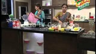 Handi Ep 428 Part 1. Chicken Kebab, Fruit Salad, Doodh Ka Sherbat