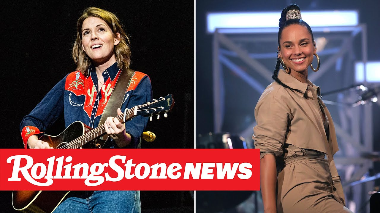 Alicia Keys, Brandi Carlile Release New Get-Out-the-Vote Duet 'A Beautiful Noise' | RS News 10/30/20