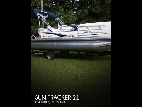 SOLD Used 2009 Sun Tracker 21 Party Barge Signature Series In Maurepas Louisiana