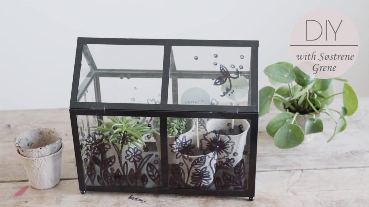 Diy Greenhouse Idea By Sostrene Grene Youtube