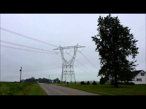 High Voltage 765 kV Power Line Noise
