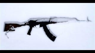 ak 74 snow test 6 hours in the snow ak47 ak74