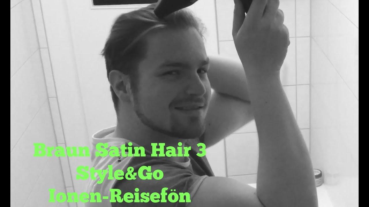 Braun Satin Hair 3 HD 350 Style&Go Haartrockner (Ionen ...