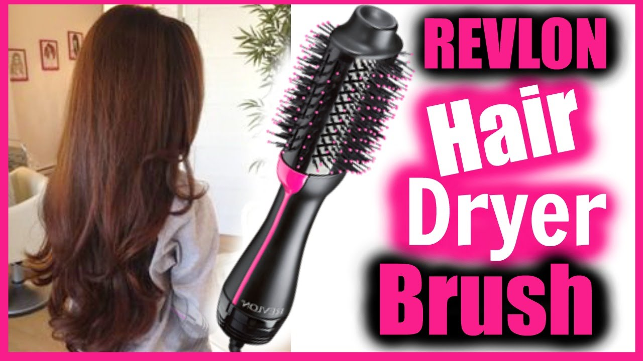 Revlon Hair Dryer Brush Tutorial Review DOES THIS WORK