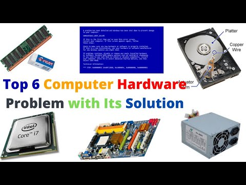 Top 6 Computer Hardware Problems With It's Solution - [Hindi] - Tricks Guru