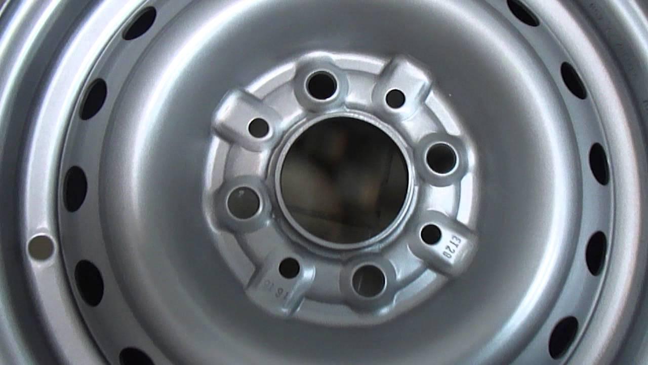 Стальные диски Mefro R13 для ВАЗ (Lada) Классика - YouTube