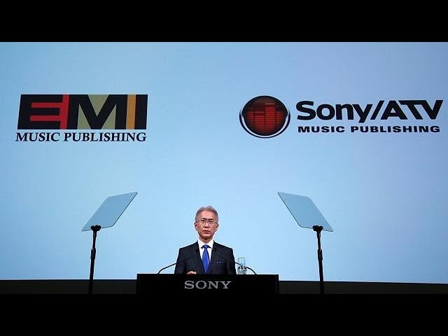 Sony buys EMI to become the world's biggest music publisher