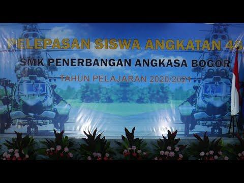 PELEPASAN SISWA ANGKATAN 46   SMK Penerbangan Angkasa Bogor   Lanud Atang Sendjaja
