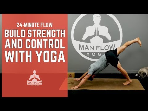 24-Minute Flow- Build Strength & Control w/ Yoga