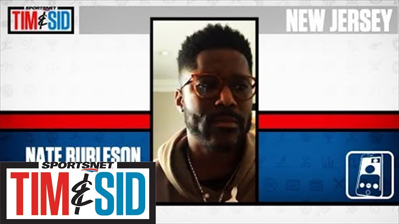 Nate Burleson's Real Talk On Load Management, Athletes Living Up To Money | Tim and Sid