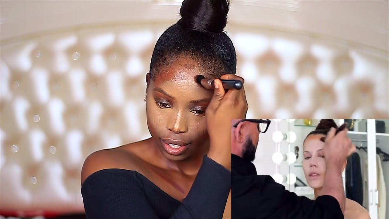 BLACK GIRL TRIES SCOTT BARNES MAKEUP TECHNIQUE ON TATI/IT WAS A DISASTER