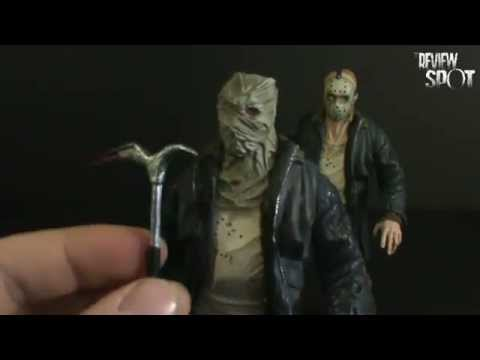 Toy Spot - Mezco Cinema of Fear Friday the 13th Remake Jason Voorhees Previews Exclusive