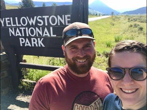 Exploring A Bunch of Geyser Basins at Yellowstone