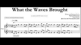 Tigran Hamasyan - What the Waves Brought (Full Transcription)