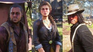 RDR2 Dutch's gang members opinion after kieran gone - Red Dead Redemption 2