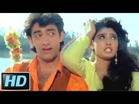 Elo Ji Sanam Hum Aa Gaye - Raveena Tandon, Aamir Khan, Andaz Apna Apna Song