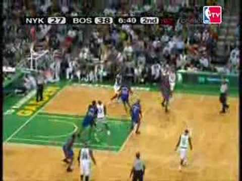 PRESEASON 07 08 Boston Celtics - New York Knicks
