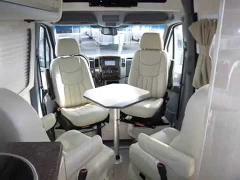 2012 Airstream Interstate 3500 22 Lounge White Mercedes