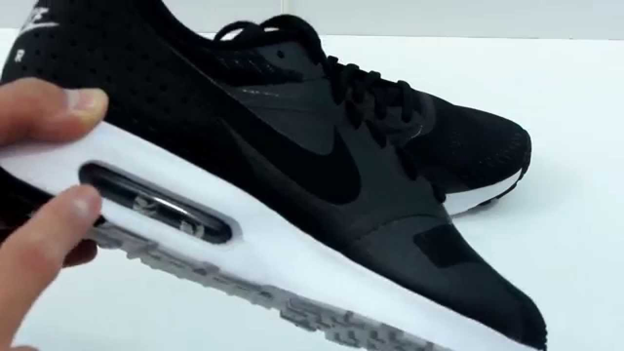 finest selection f0f30 bbd7a Nike Air Max Tavas Black White Unboxing - YouTube