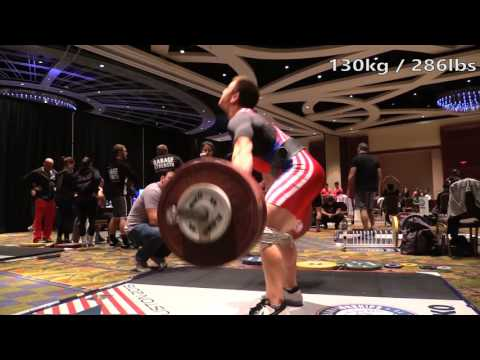California Strength back room at the American Open: Episode 1