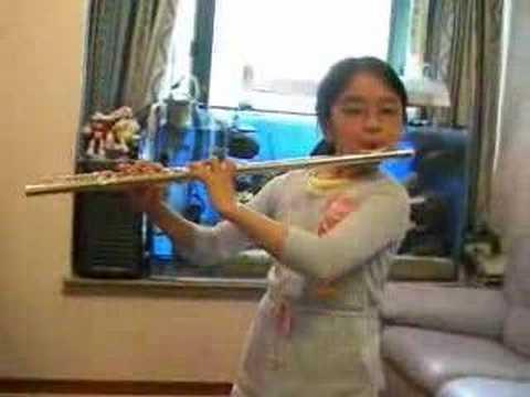 age 8 girl playing bumble bee