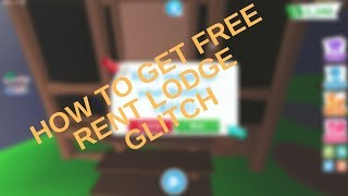 How to get free Rent Lodge Inside Adopt me.... Roblox Adopt Me