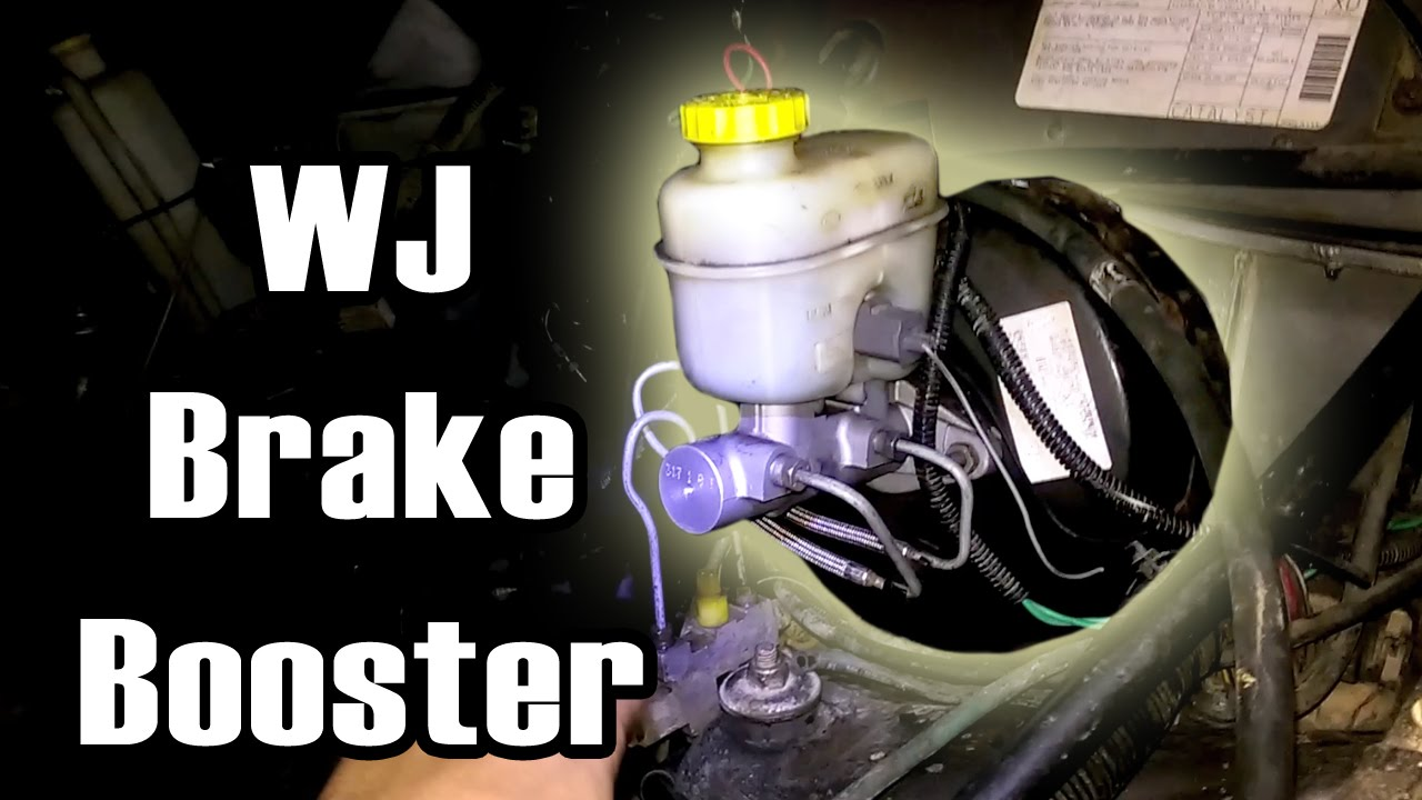 89 Cherokee WJ Brake Booster Swap by NickInTimeFilms