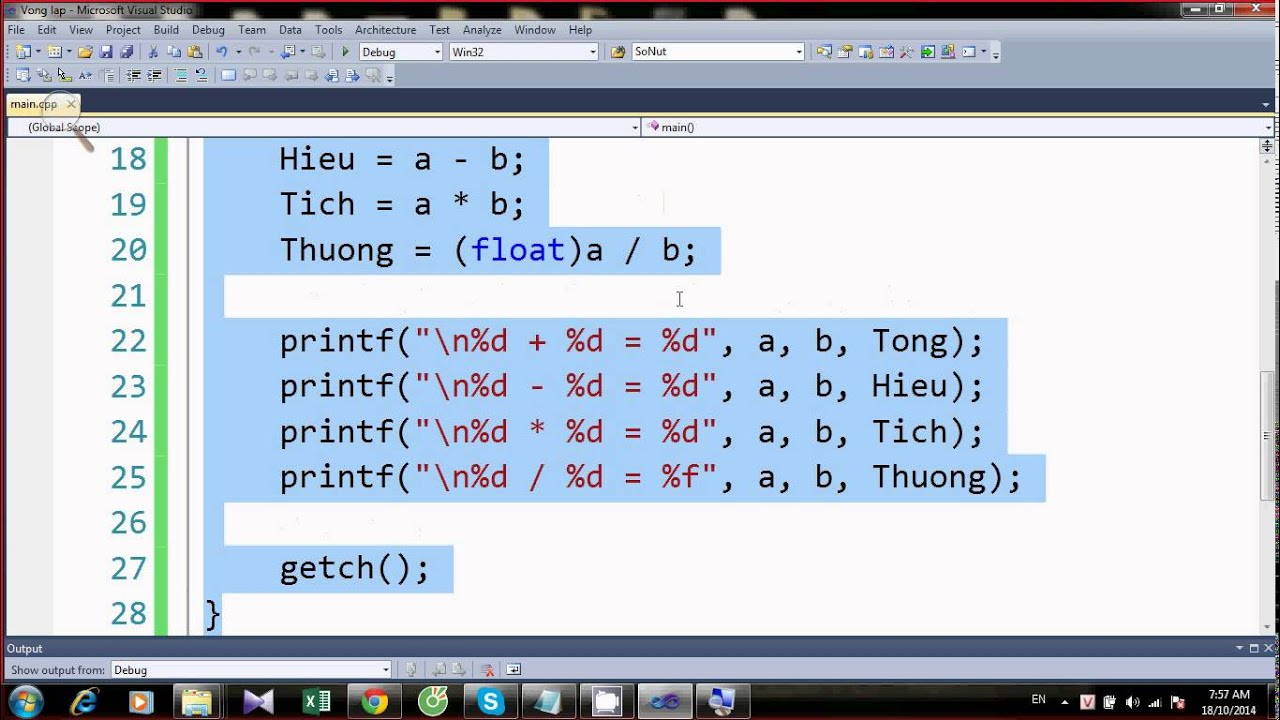 Lập trình C/C++ – Thủ tục – Hàm – Part 1