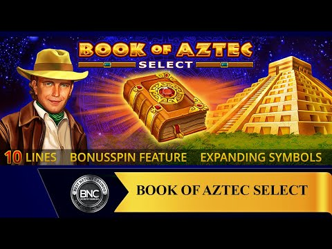 Book of Aztec Select slot by Amatic Industries