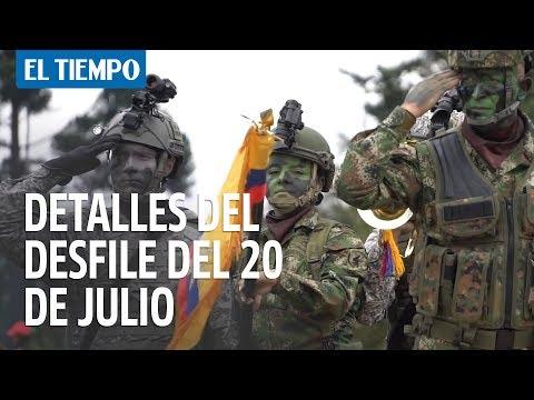 Lo que tiene que saber del desfile del 20 de julio en Bogotá | EL TIEMPO