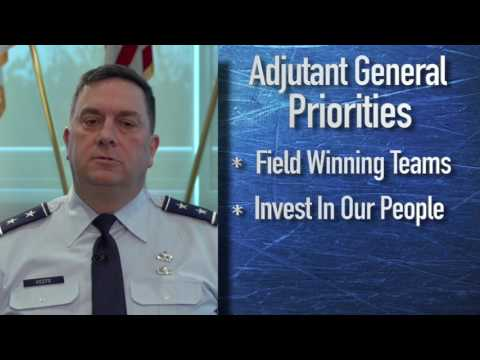 Adjutant General Priorities