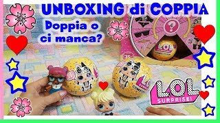 APERTURA DI COPPIA LOL Surprise Confetti POP wave 2 = DOPPIA O CI MANCA?! Unboxing by Lara e Babou