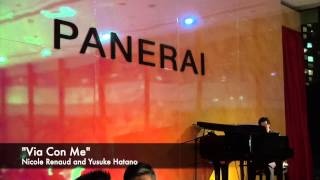 """Via con me"" accordion and piano - Nicole Renaud & Yusuke Hatano"