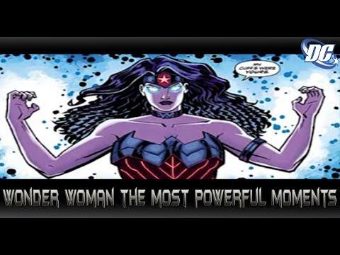 ความเทพของWonder Woman[The most powerful moments]comic world daily