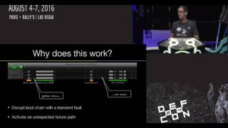 DEF CON 24 - pin2pwn - How to Root an Embedded Linux Box with a Sewing Needle