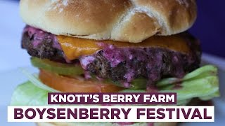 25 Unbelievable Boysenberry Foods From Knott's Berry Farm | Foodbeast Adventure