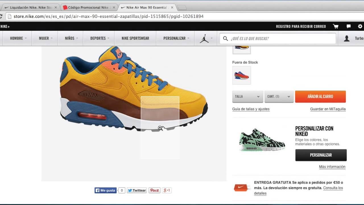 Acechar Revocación En la madrugada  Código Promocional Nike -20% enero 2021