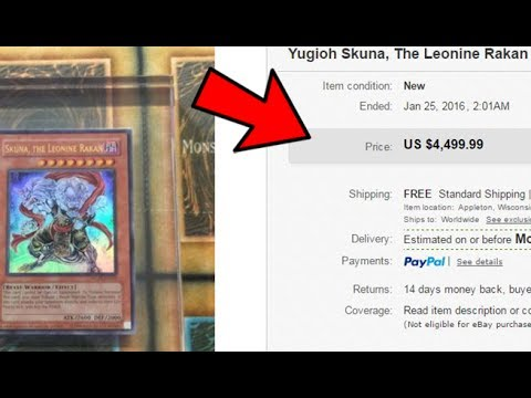 The Top 10 Most Expensive Yugioh Cards of All Time