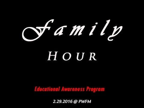 Mr. Adelbai & Ms. Ubedei on Family Hour (2.29.2016)