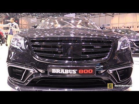 2018 Mercedes AMG S63 Brabus 800 - Exterior And Interior Walkaround - 2018 Geneva Motor Show