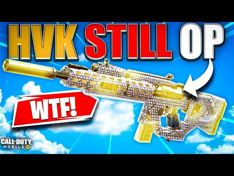 The HVK-30 Is Still Overpowered In Cod Mobile!