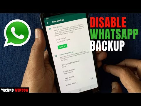 How To Disable WhatsApp Backup On iPhone And Android