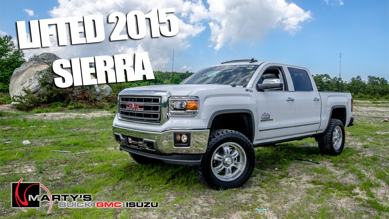 Lifted 2015 gmc sierra 1500 loaded quick look