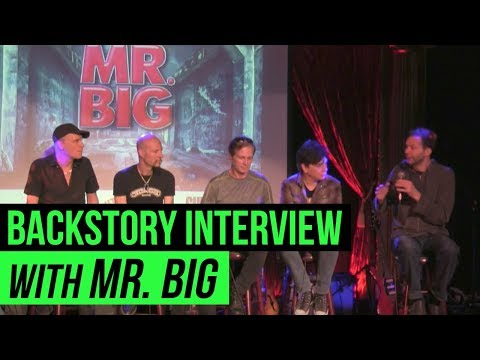 BackStory Presents: A live interview with Mr. Big from The Cutting Room